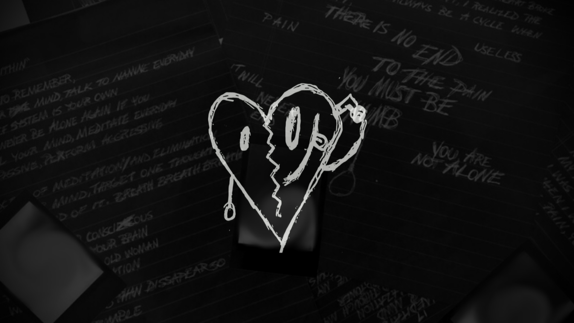 1920x1080 Just an X wallpaper I made, thoughts? :) : XXXTENTACION