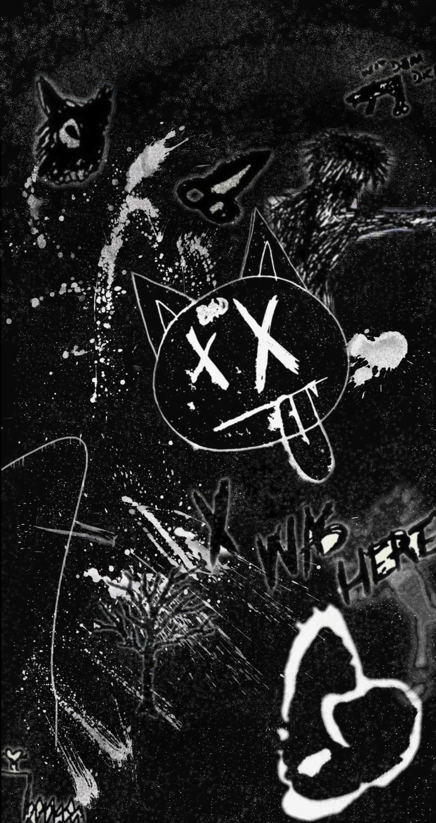 852x1608 I Just changed the wallpaper that I posted some hours ago : XXXTENTACION