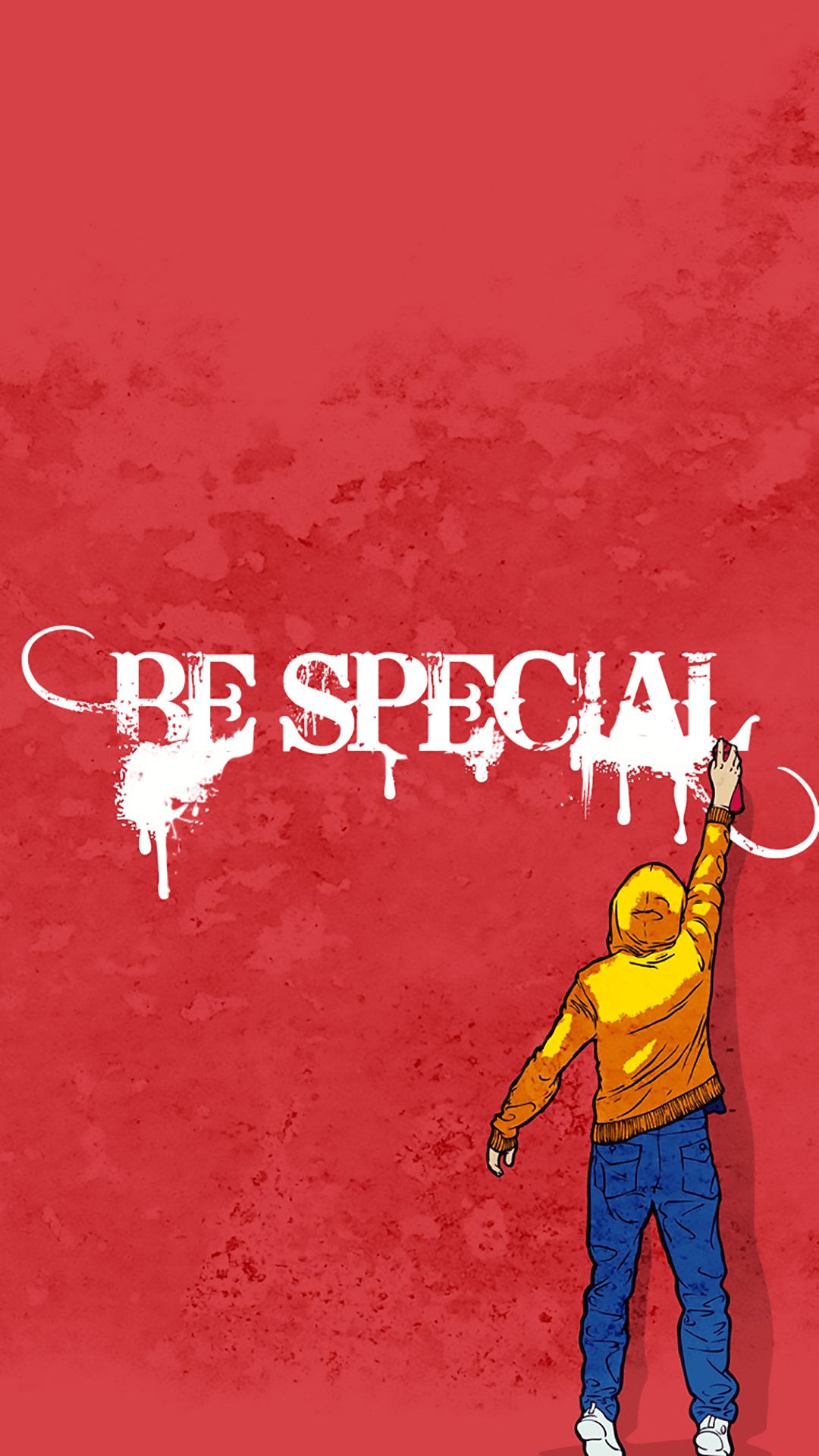 1080x1920 ↑↑TAP AND GET THE FREE APP! Art Creative Graffiti Walls Quotes Red ...