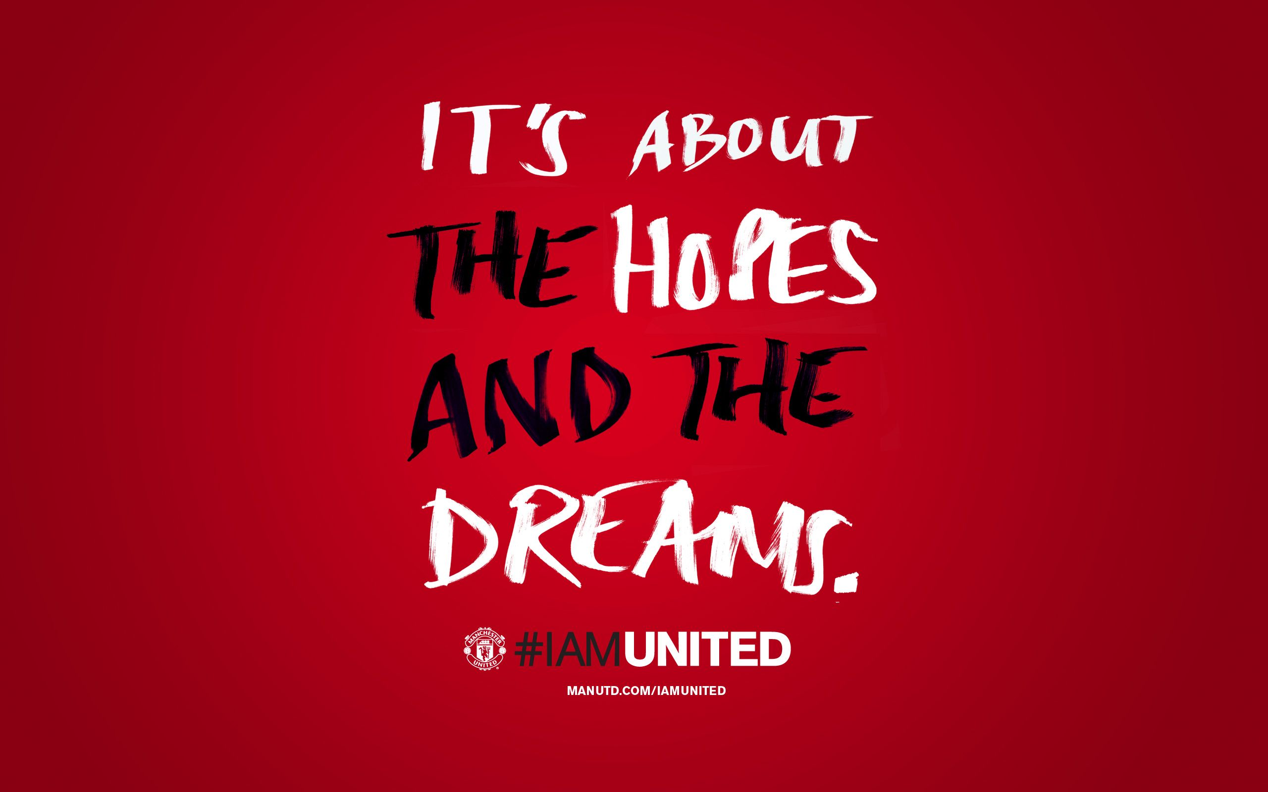 2560x1600 Manchester United Quotes Wallpaper #546 • SongiadaPro   My One True ...