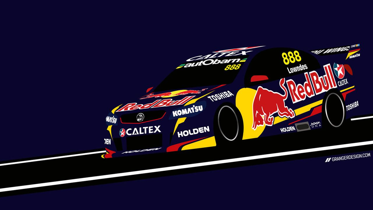 1280x720 Craig Lowndes Wallpaper - Vector Illustration by GrangerDesign on ...