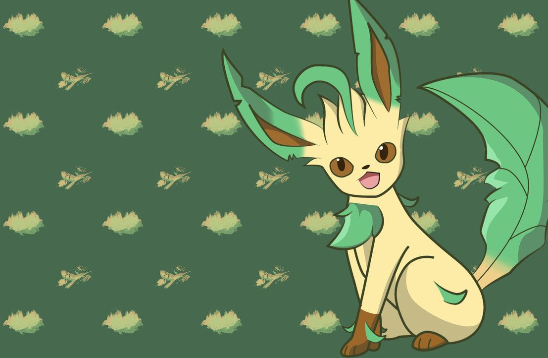 1107x722 Leafeon Wallpaper (2880 x 1880) by CaptureStar on DeviantArt