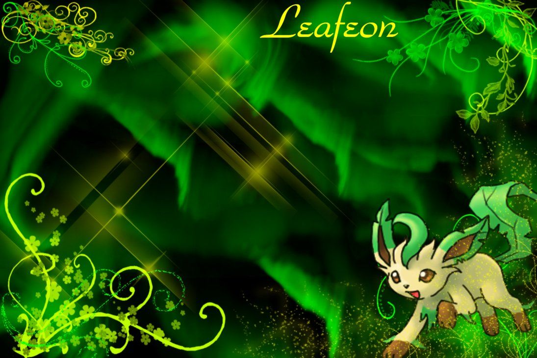 1095x730 Leafeon Wallpaper by SlaveWolfy on DeviantArt