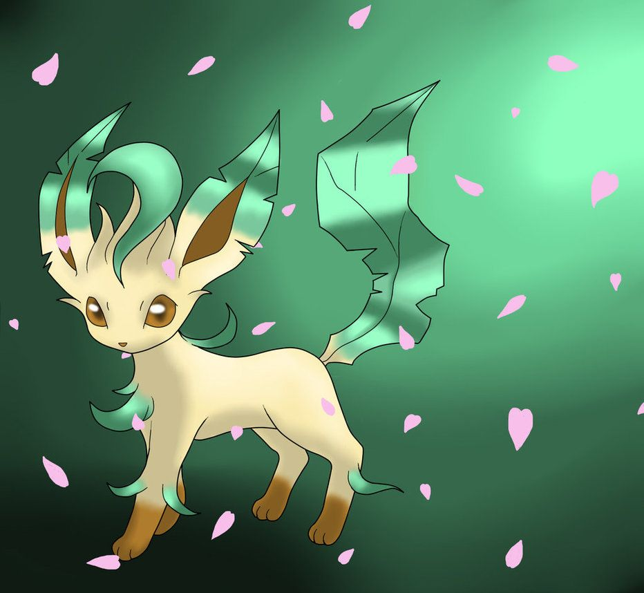 932x858 Leafeon by Hanashyma on DeviantArt