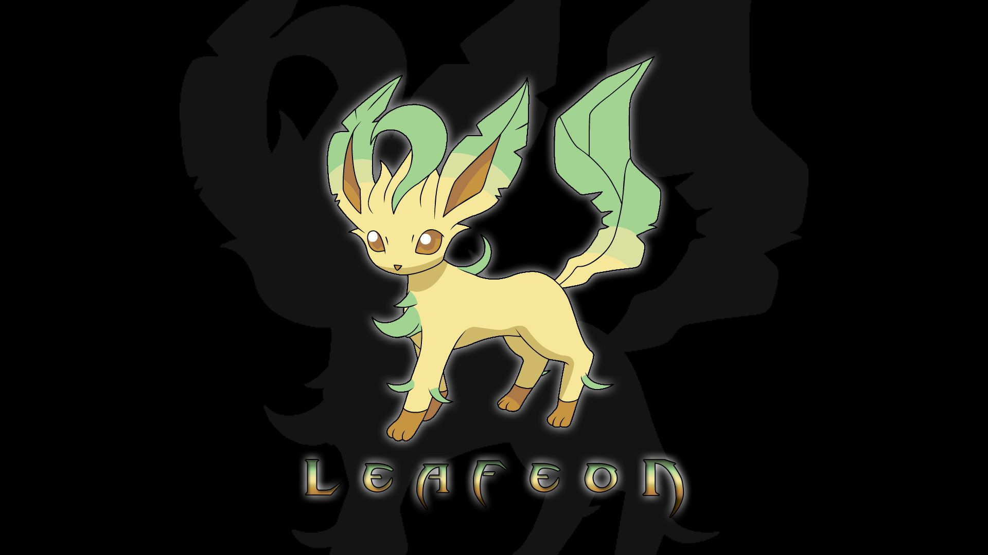 1920x1080 Leafeon Wallpaper 12+ - HD wallpaper Collections - szftlgs.com