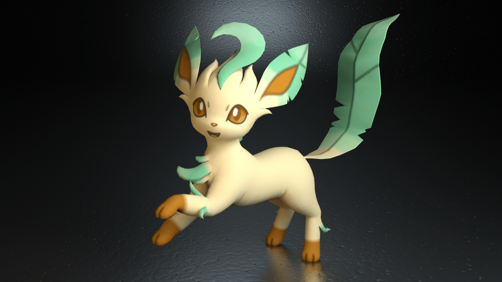 1600x900 470. Leafeon by TheAdorableOshawott on DeviantArt