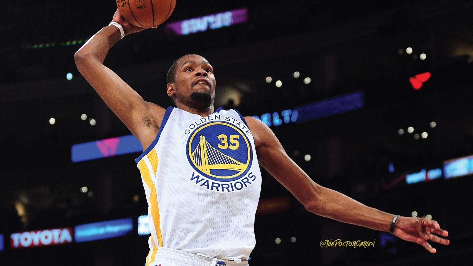 1600x900 Wallpaper of Kevin Durant Golden Gate Warriors 3 - Media file ...