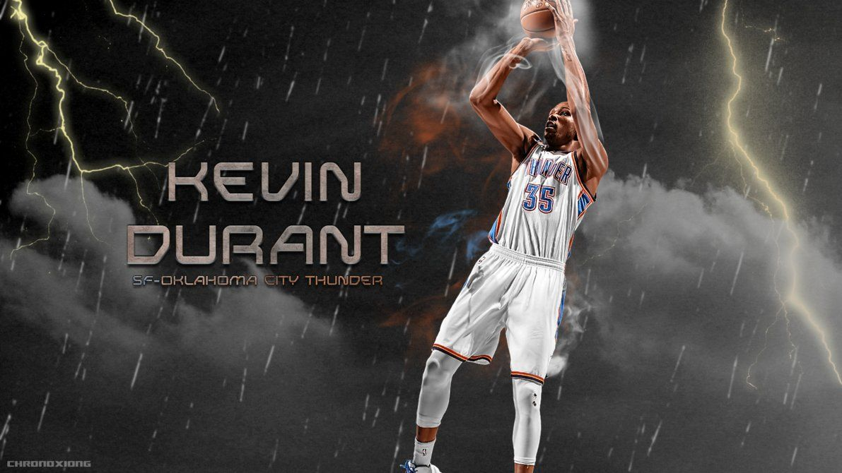 1191x670 Kevin Durant wallpaper by chronoxiong on DeviantArt