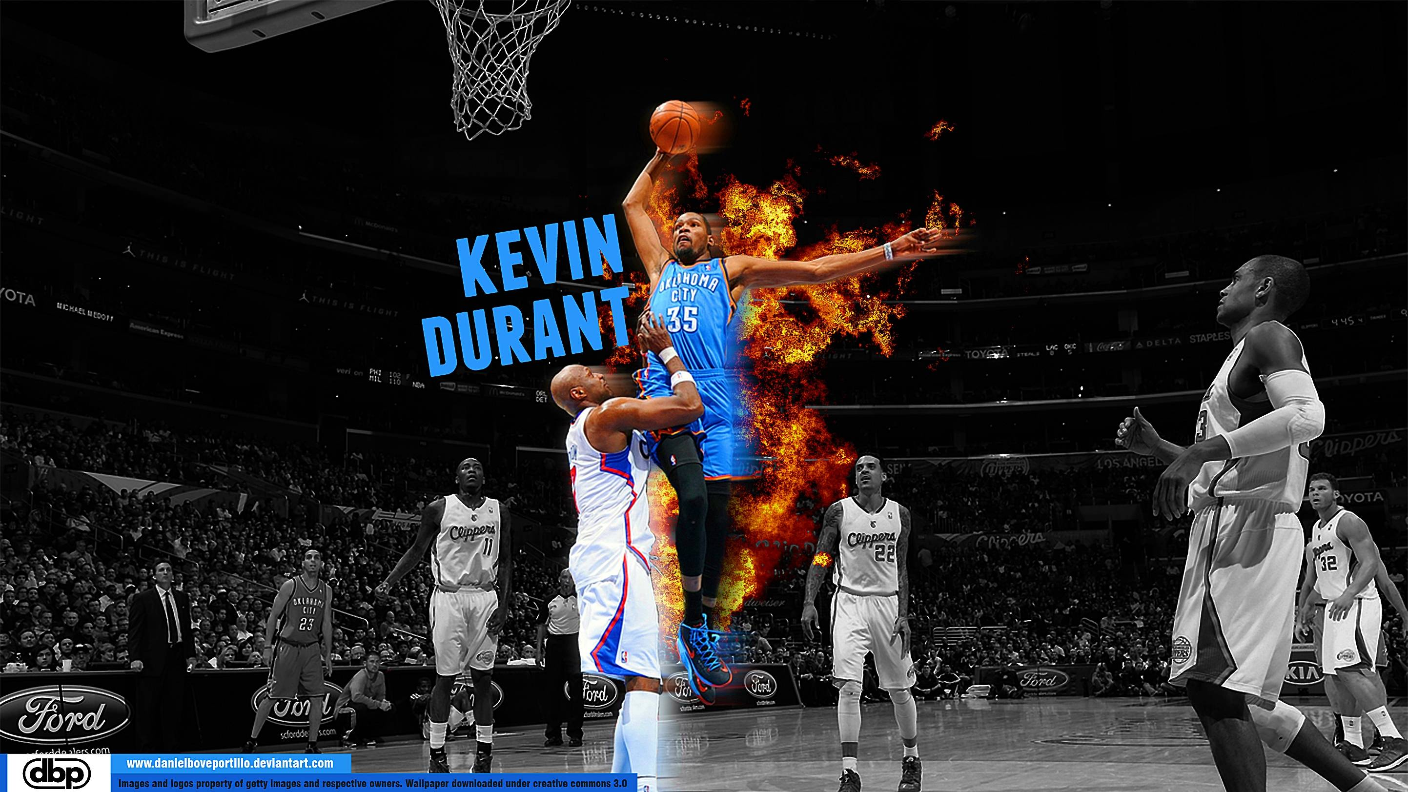 2885x1623 Kevin Durant Dunk Wallpapers 2016