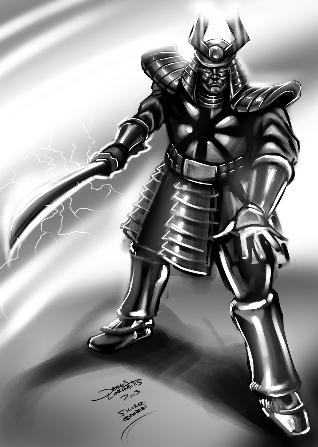 1080x1518 Silver Samurai (DSC) by jameslink on DeviantArt