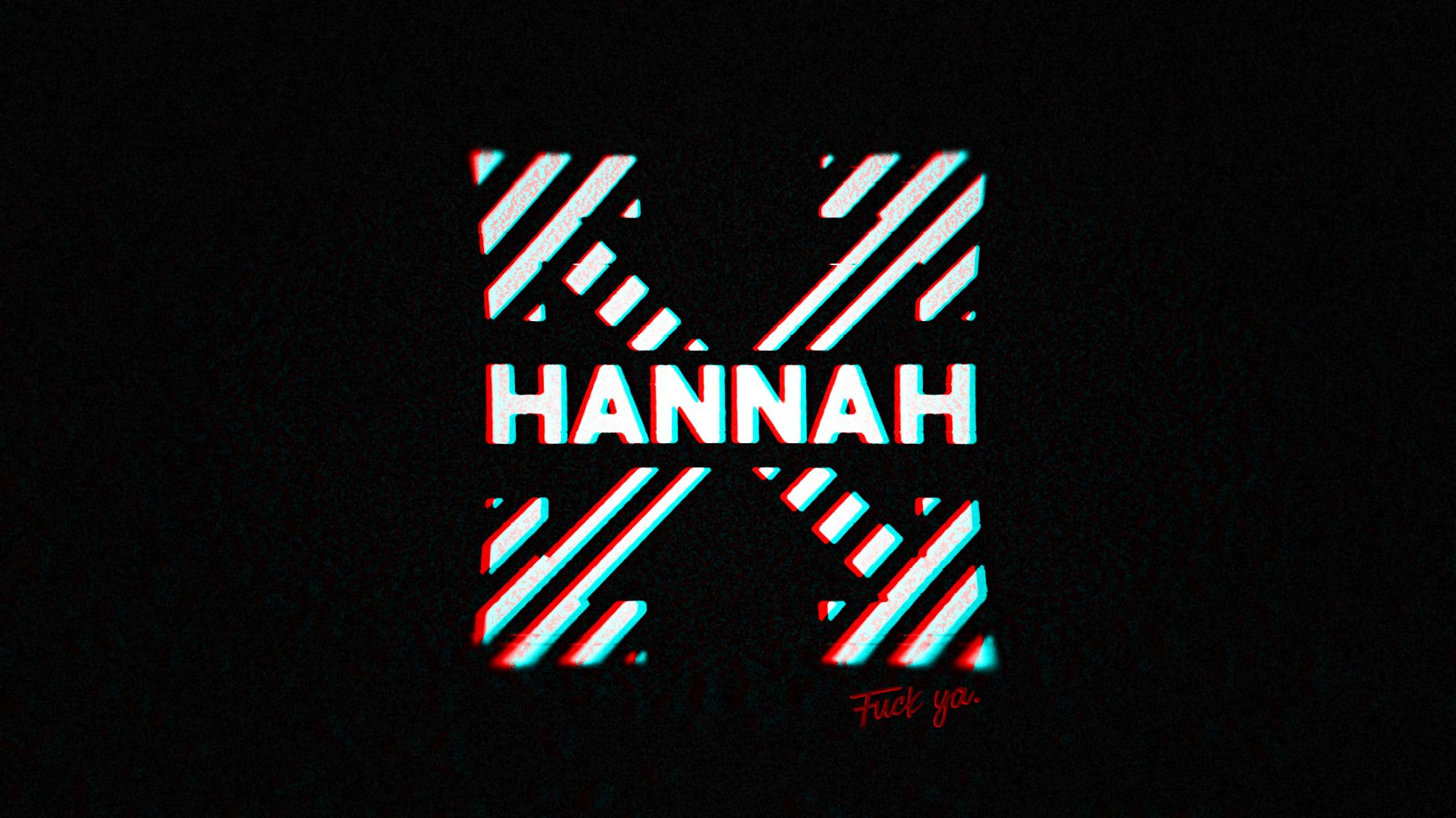 1920x1080 Hannah X OFF-WHITE Wallpaper – Dylan Stewart
