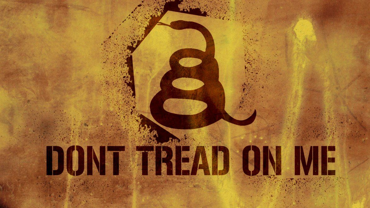 1191x670 Don't Tread On Me Yellow Indus by MacManiac411 on DeviantArt