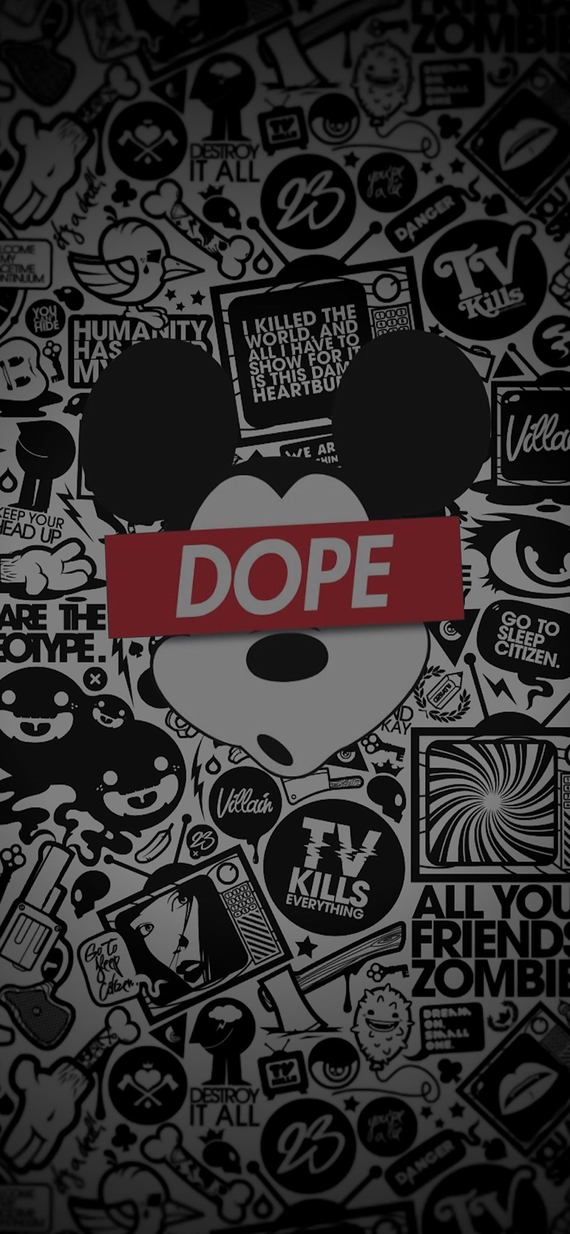 1125x2436 Dope Iphone X Funny Wall | Gaming Desktop Wallpapers | Dope ...