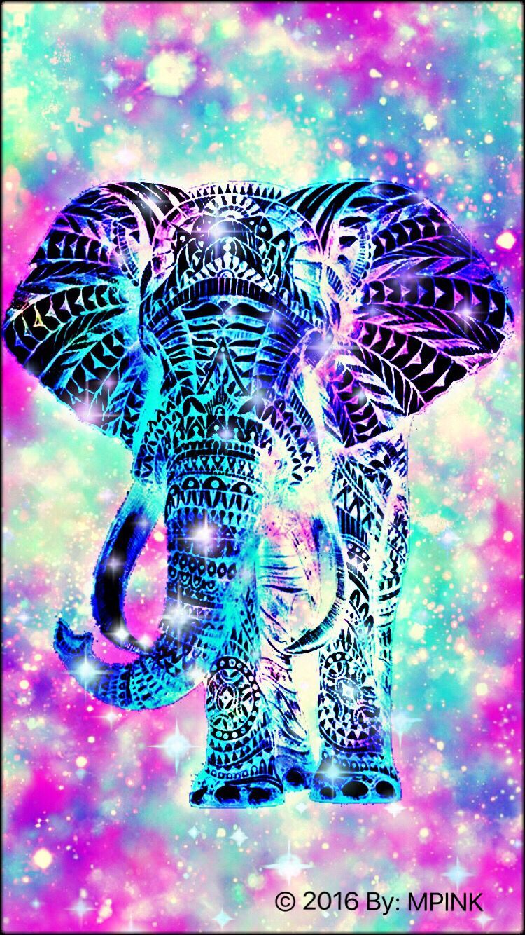 750x1334 2016 Elephant Hipster Wallpaper Created By Me   Wallpapers ...