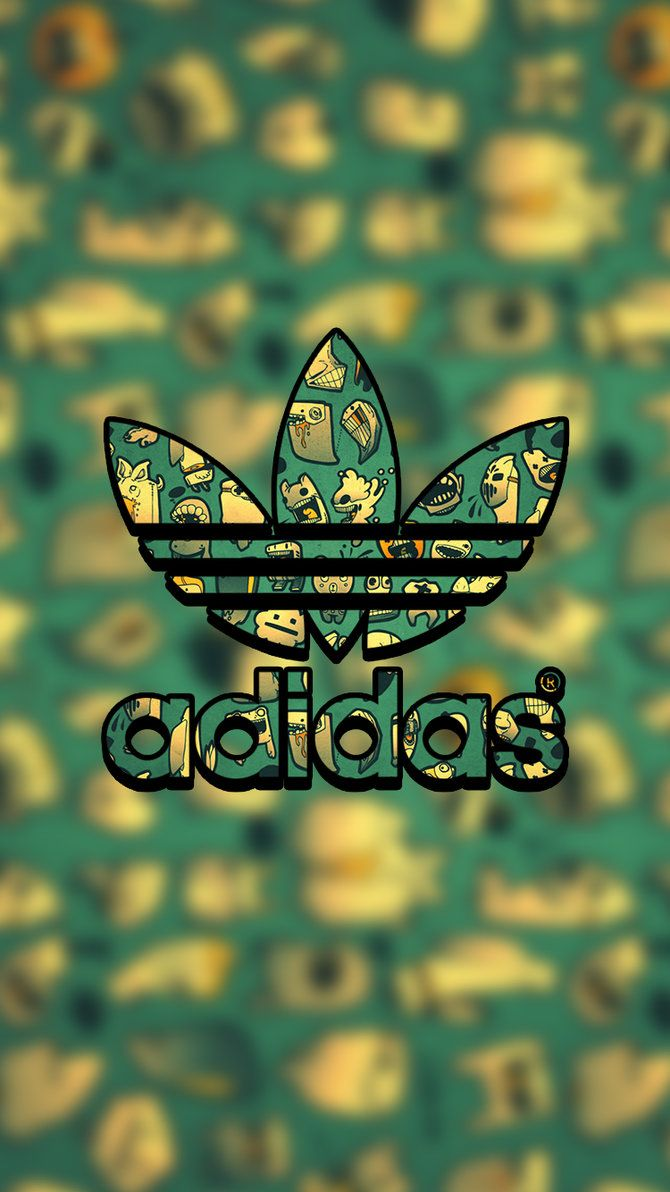 670x1192 Adidas Lock Screen Logo Wallpaper For Iphone by lukejacobs02 on ...