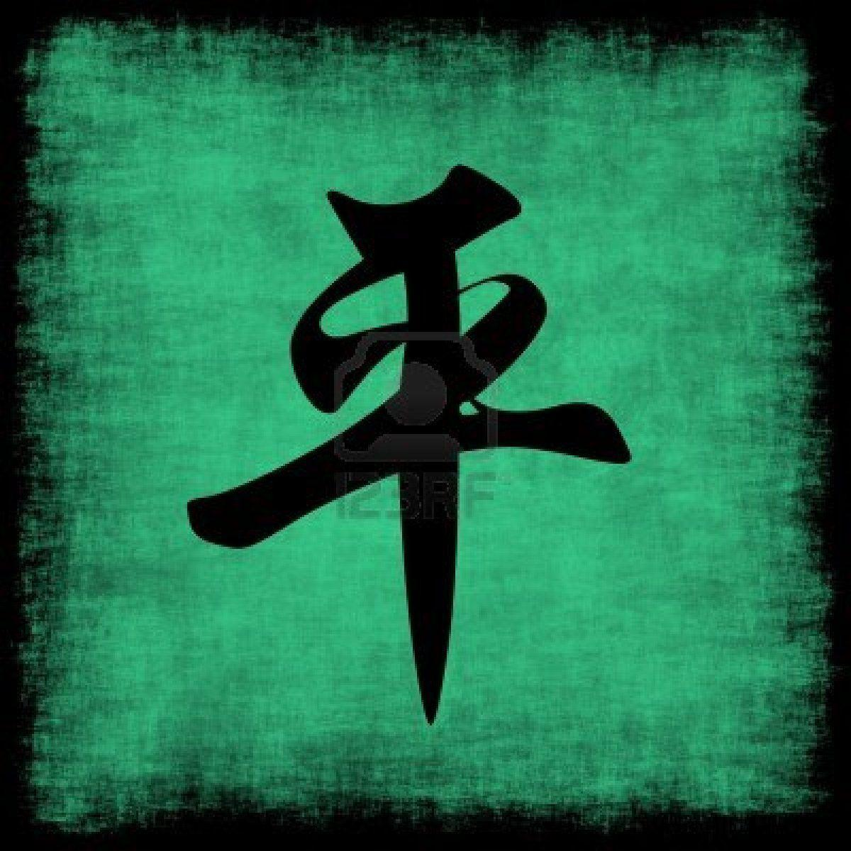 1200x1200 Chinese Symbols Wallpapers