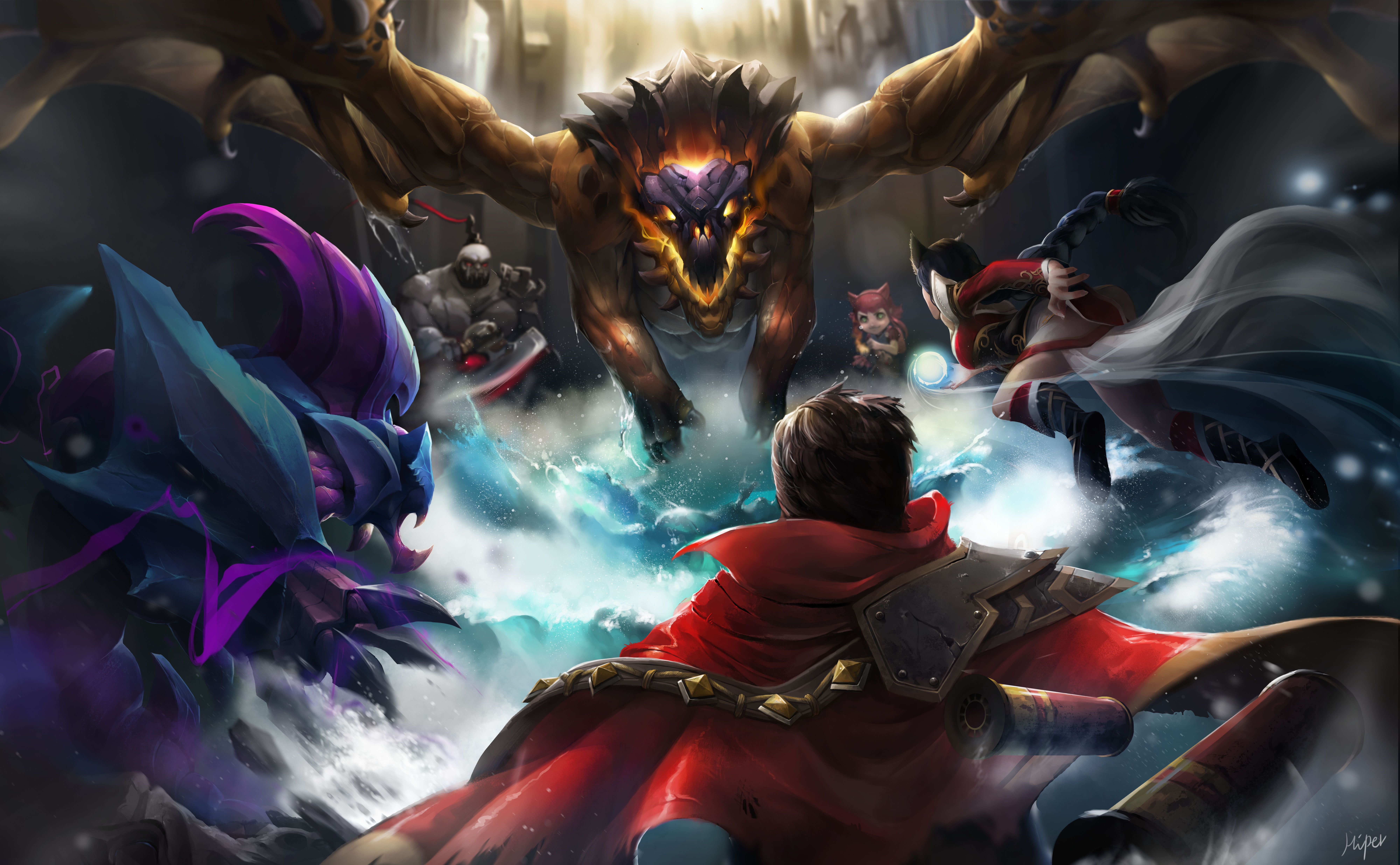8000x4945 38 Graves (League Of Legends) HD Wallpapers | Background Images ...