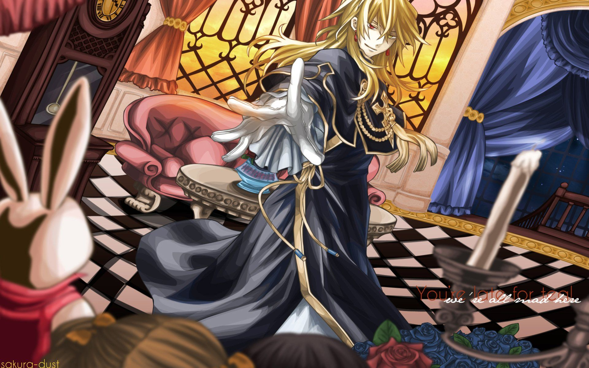 1920x1200 87 Pandora Hearts HD Wallpapers | Background Images - Wallpaper Abyss