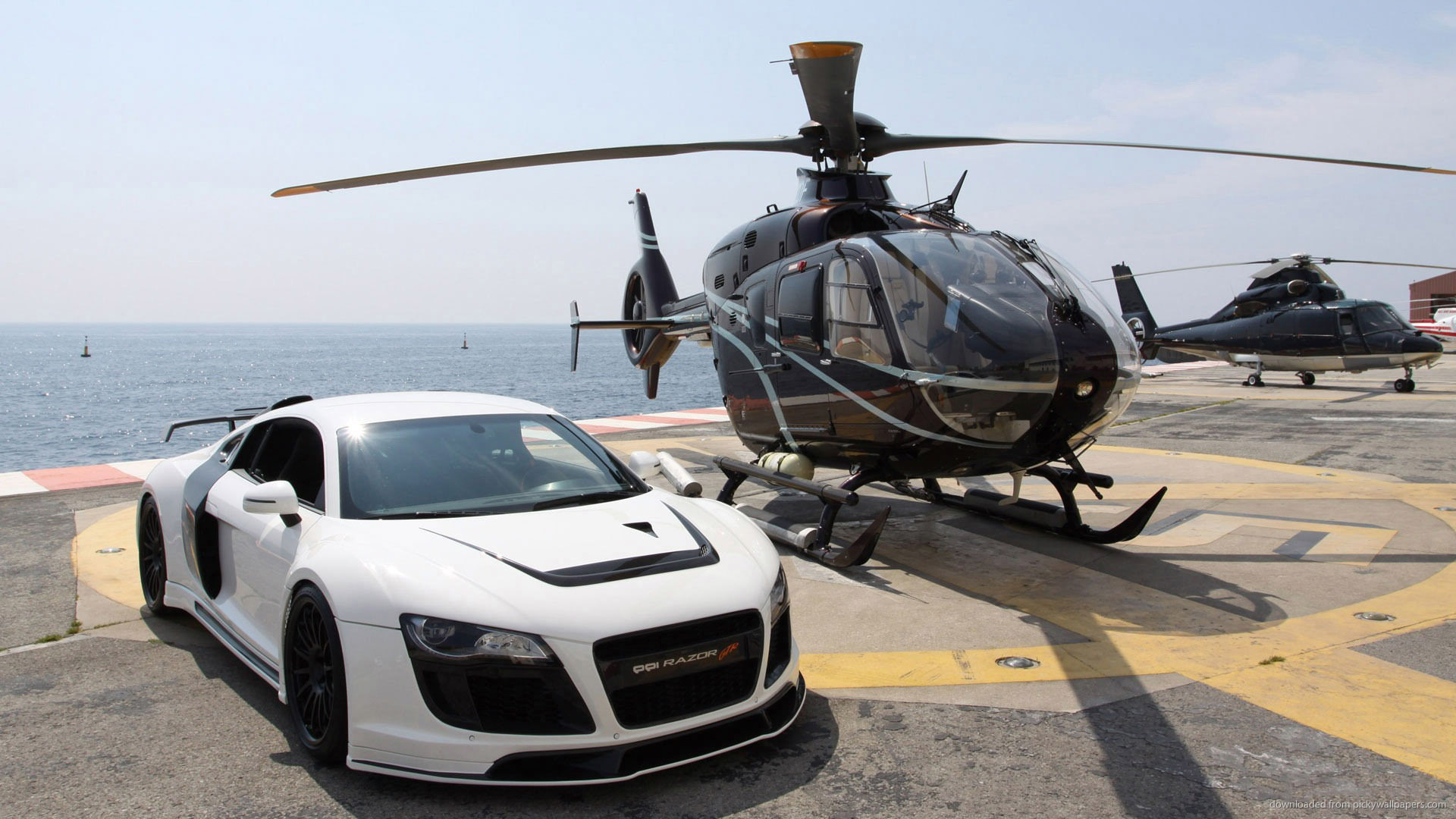 1920x1080 Helicopter Audi Wallpaper #19328 Wallpaper | High Resolution ...