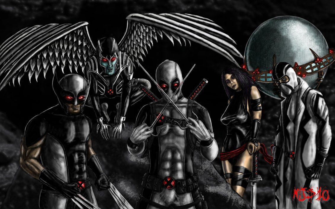 1131x707 uncanny x-force by scarecrowstudios on DeviantArt