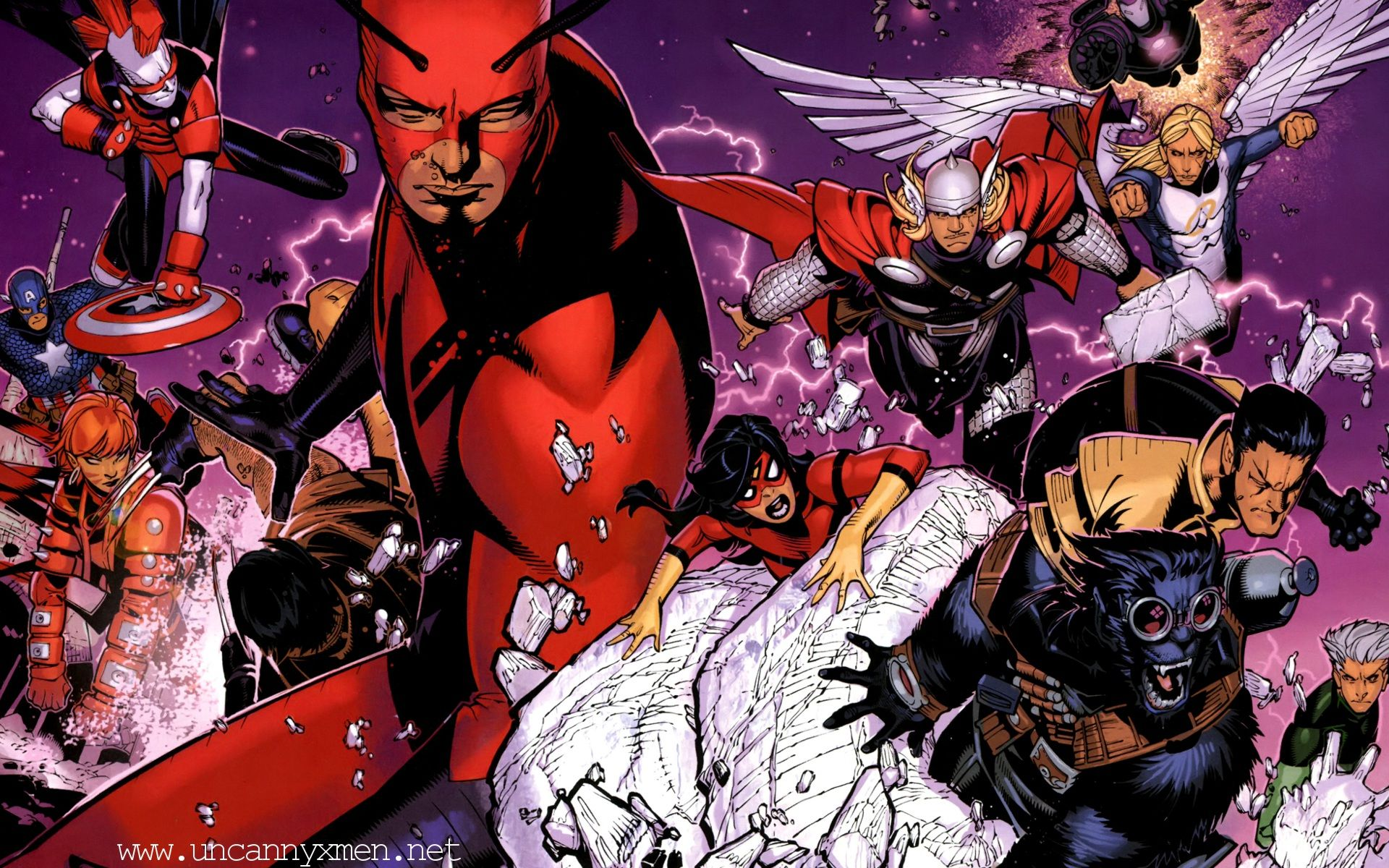 1920x1200 Uncanny X-Men Wallpapers and Background Images - stmed.net