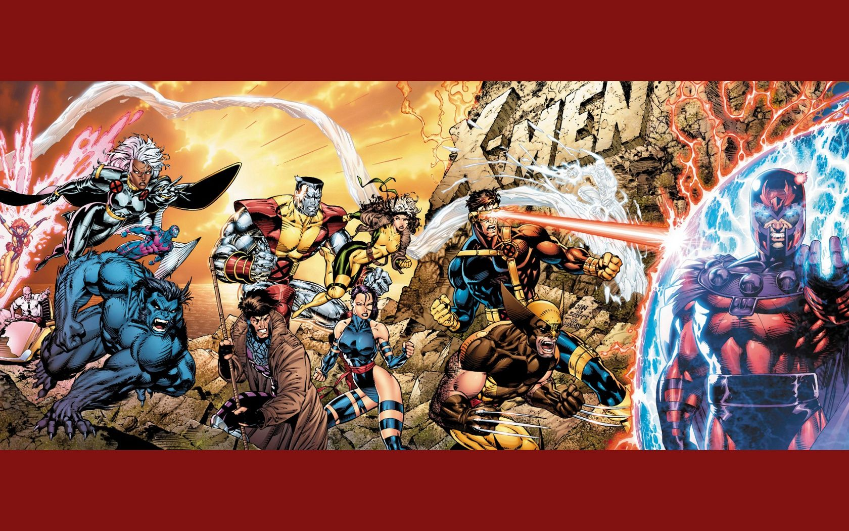 1680x1050 Uncanny X-Men Wallpapers and Background Images - stmed.net