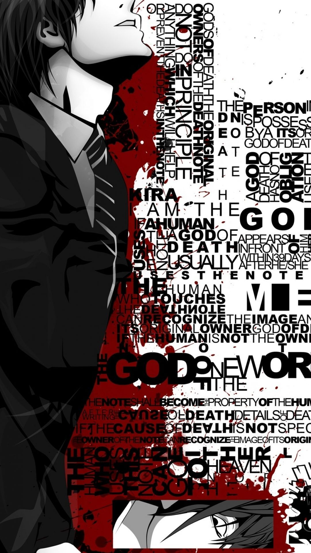1080x1920 Death Note HD Wallpapers and Backgrounds   Death•Note   Death note ...