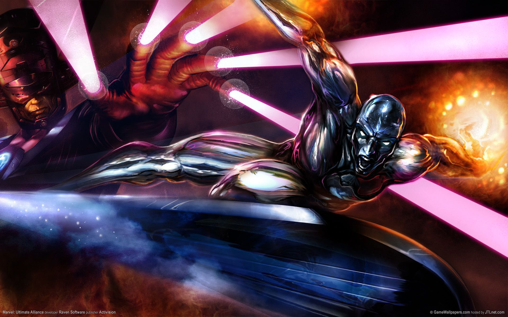 1920x1200 Silver Surfer, #Galactus, #Marvel | Wallpaper No. 8003 - wallhaven ...