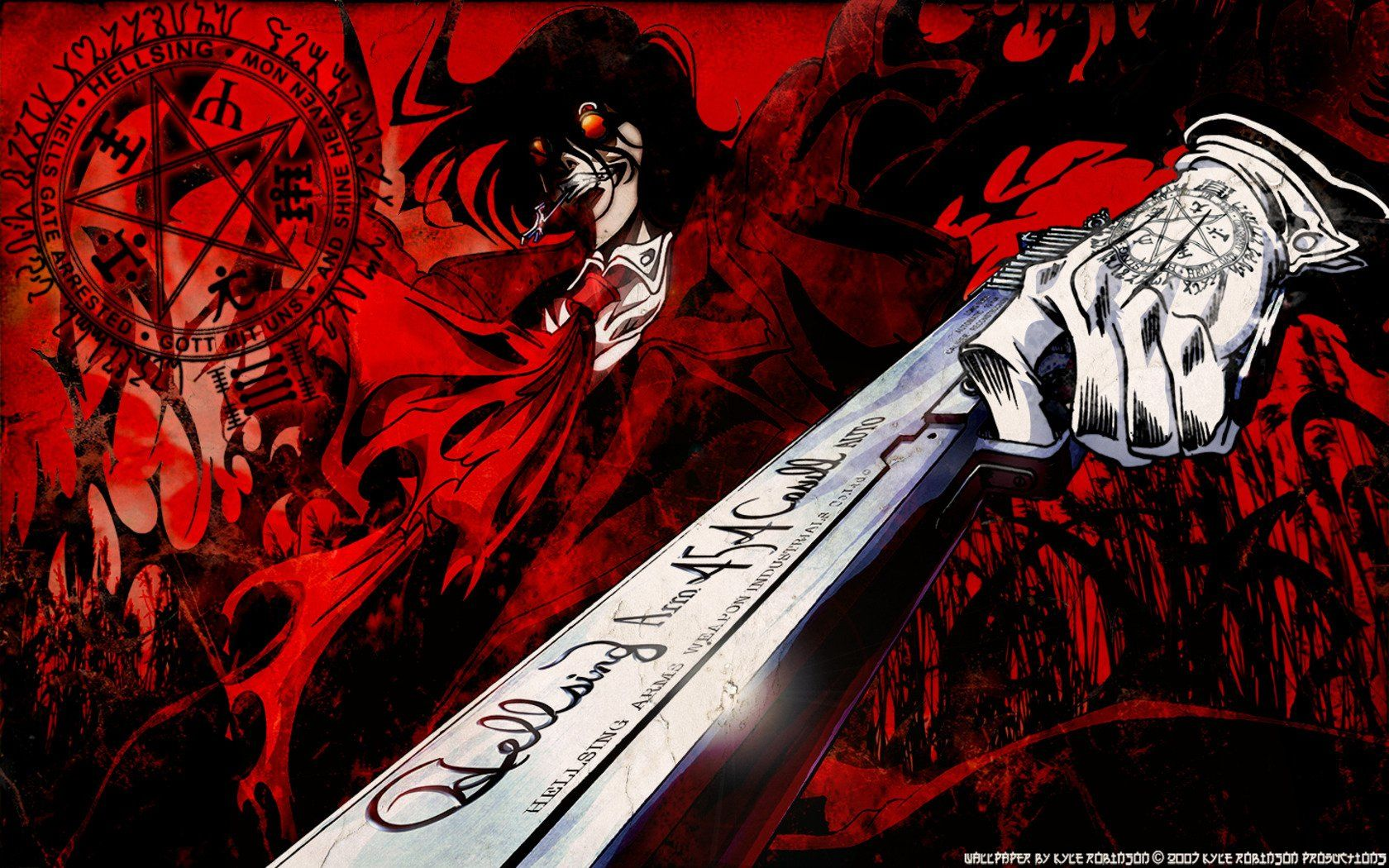 1680x1050 600 Hellsing HD Wallpapers | Background Images - Wallpaper Abyss