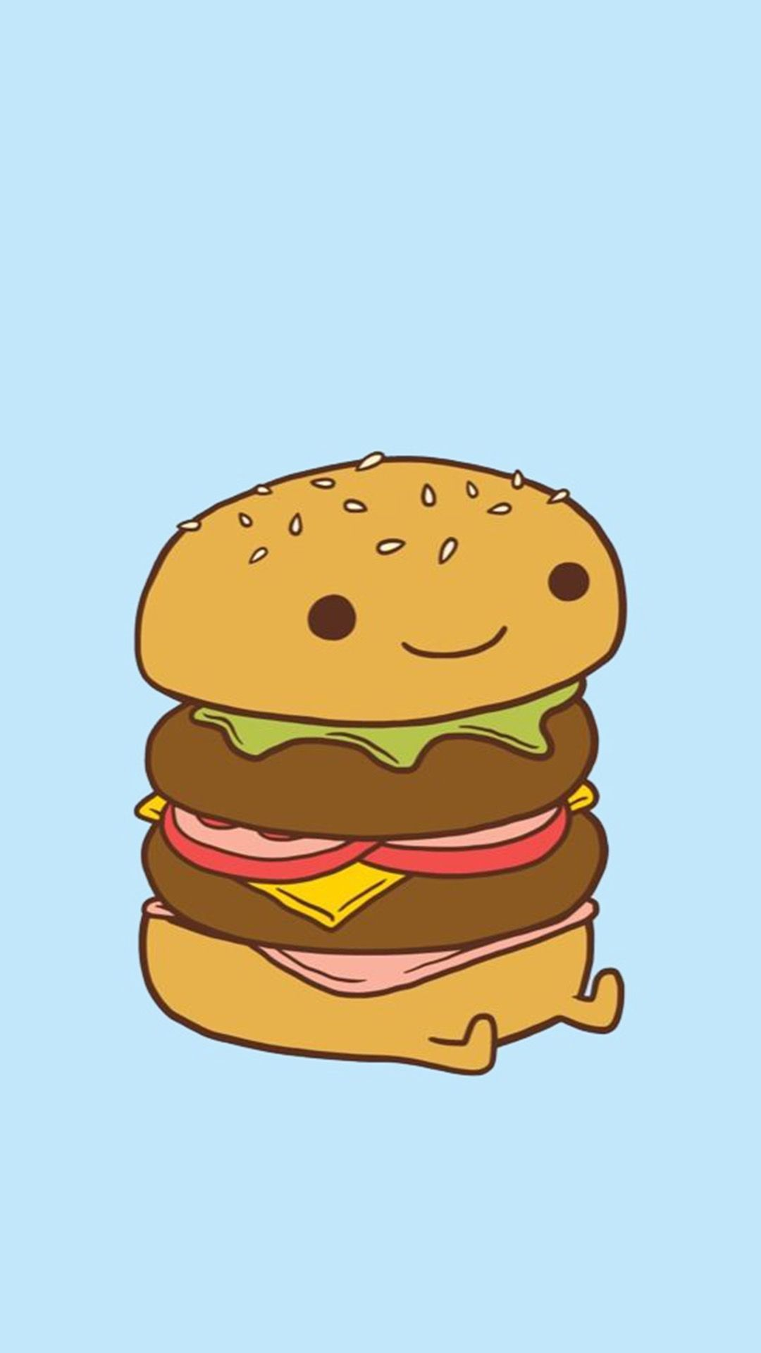 1080x1920 Da burger | My first | Pinterest | Burgers, Kawaii and Wallpaper
