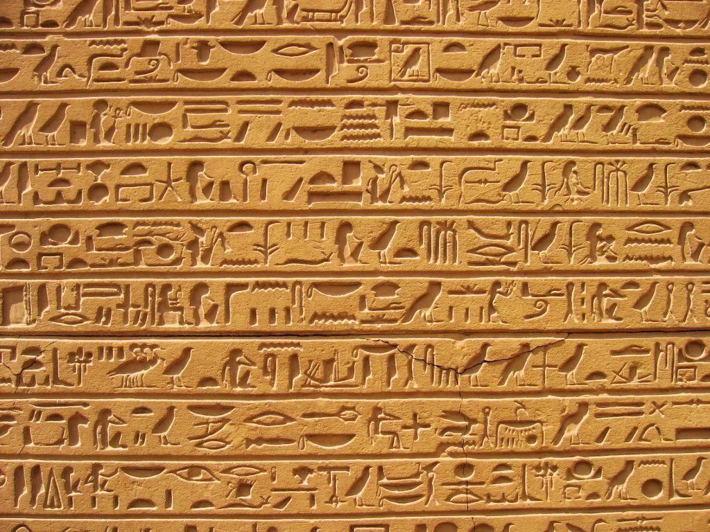 1024x768 Egyptian Hieroglyphs Wallpapers