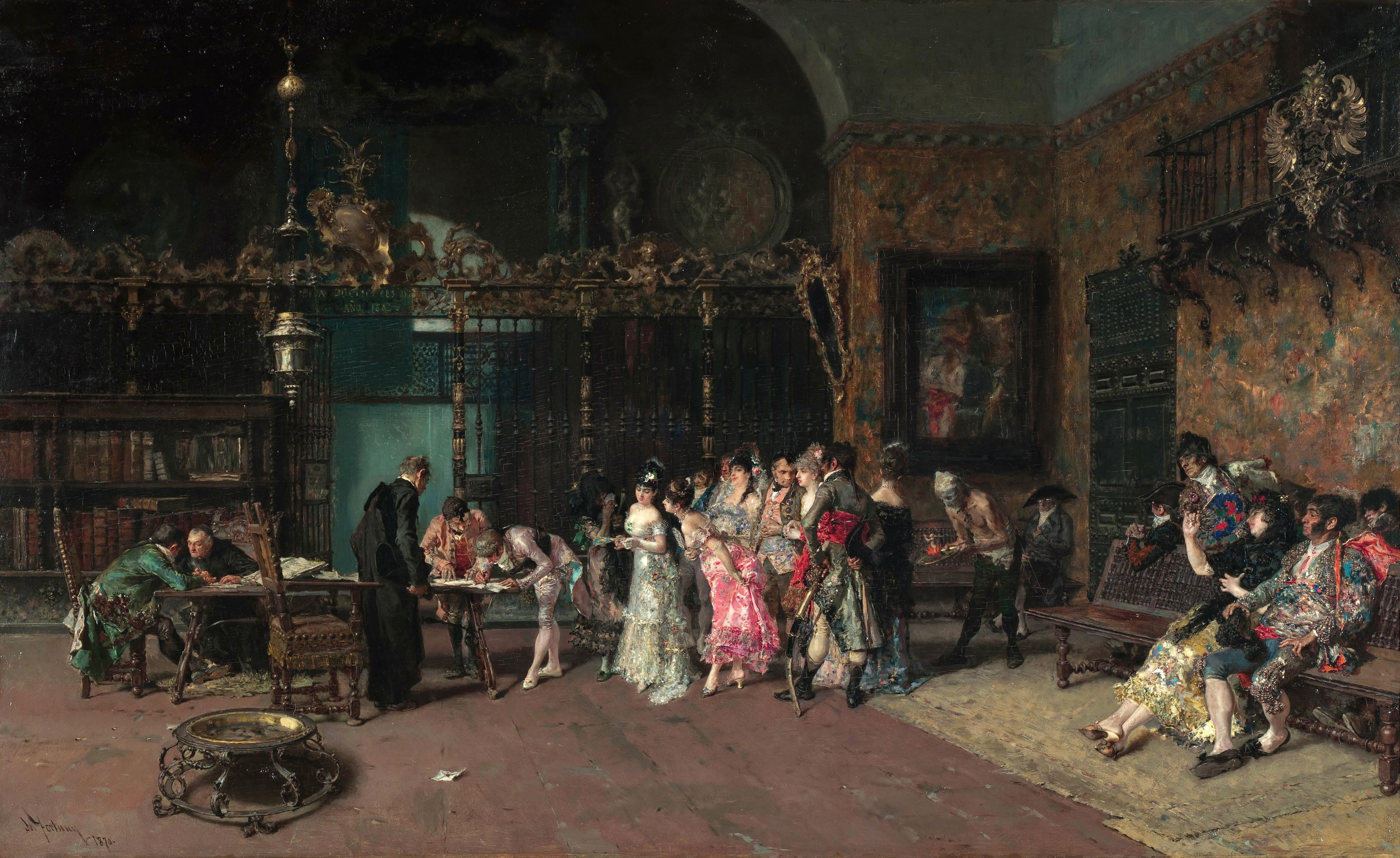 4815x2948 paintings, room, artwork, classic art, Mariano Fortuny y Marsal ...