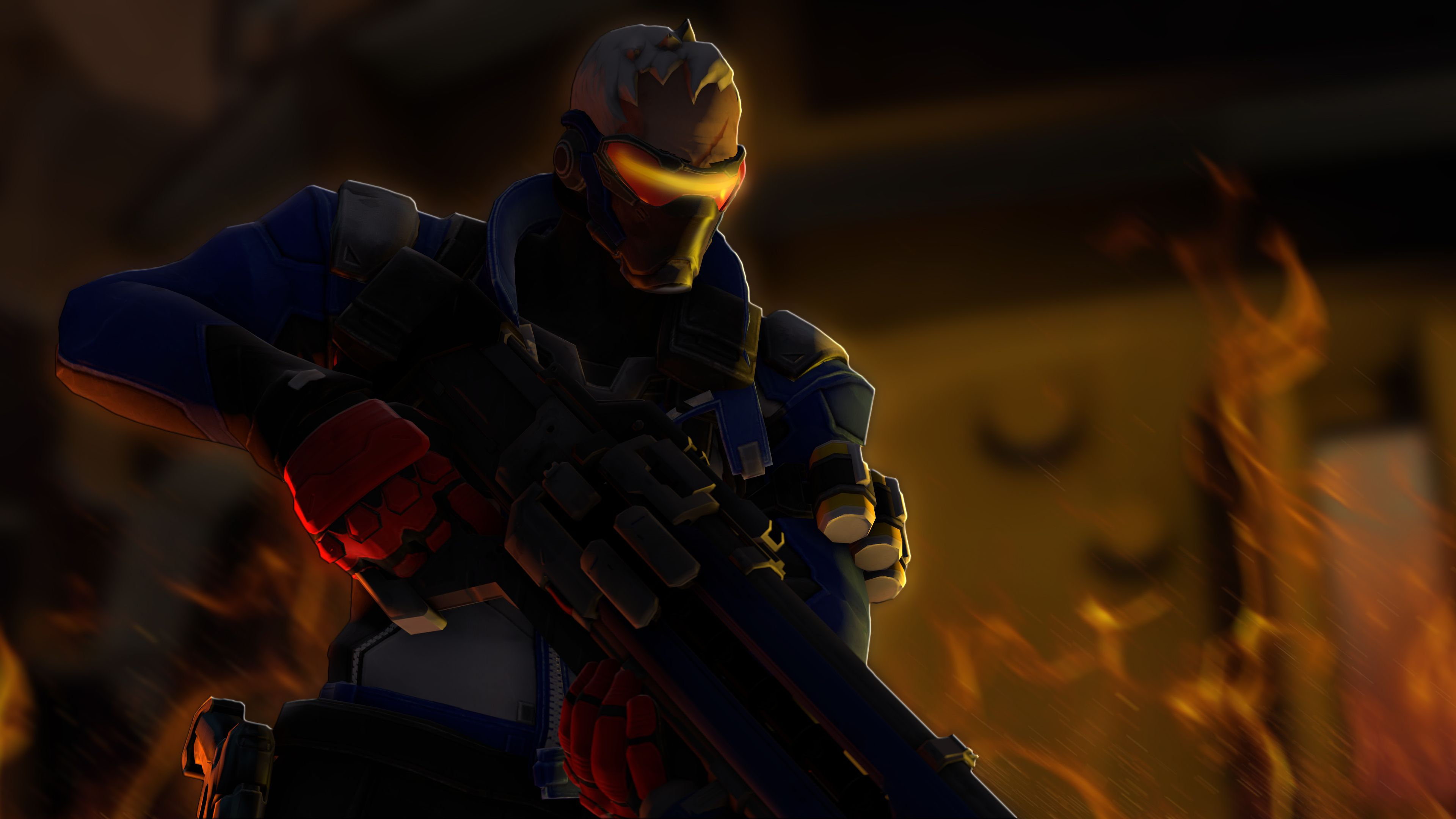 3840x2160 78 Soldier: 76 (Overwatch) HD Wallpapers | Background Images ...
