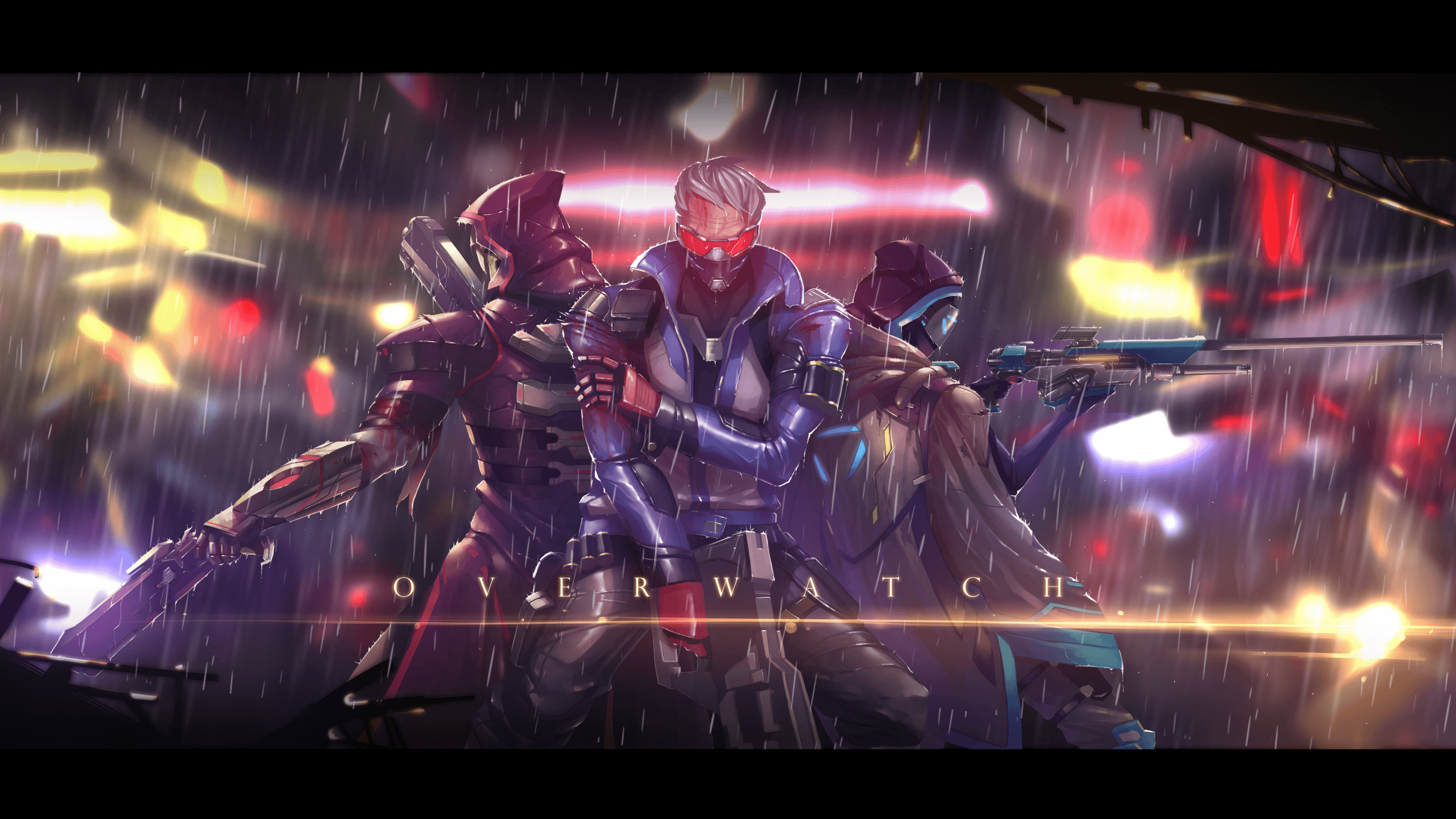 2800x1575 78 Soldier: 76 (Overwatch) HD Wallpapers | Background Images ...