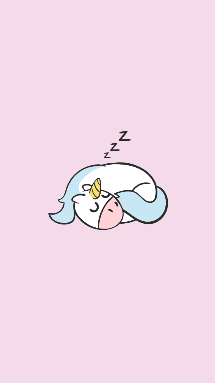 750x1334 Cute unicorn phone wallpapers - YouLoveIt.com