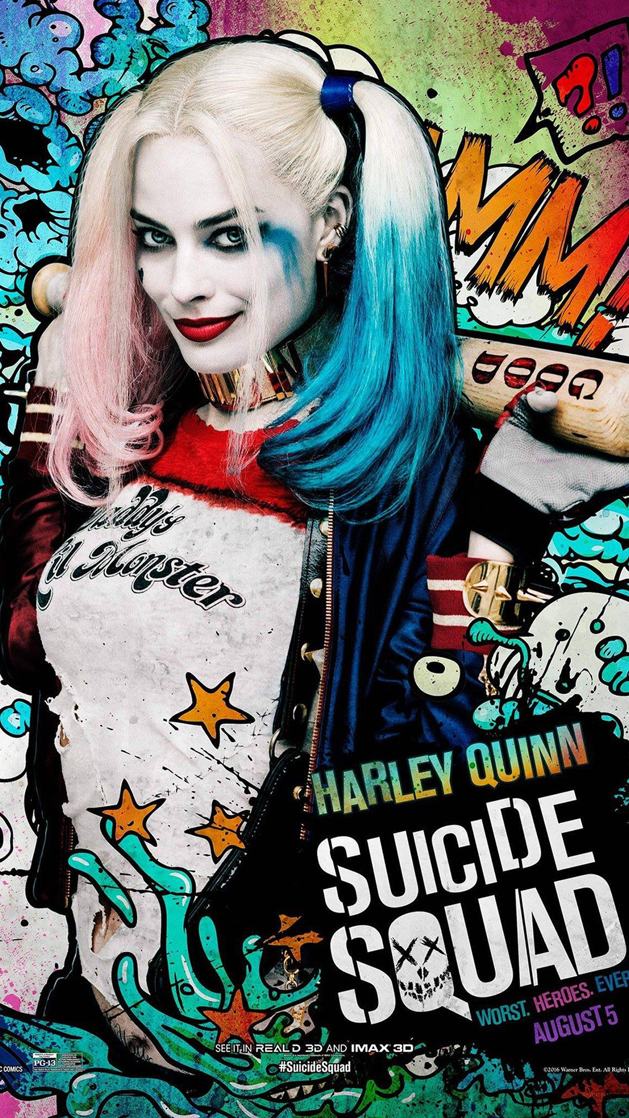 1242x2208 iPhone6papers.co | iPhone 6 wallpaper | as43-suicide-squad-film ...