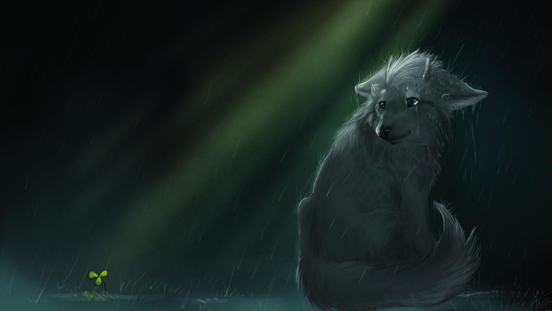 1920x1080 Anime Wolf Wallpaper Page 1 | Anime Wolves | Anime wolf, Wolf ...