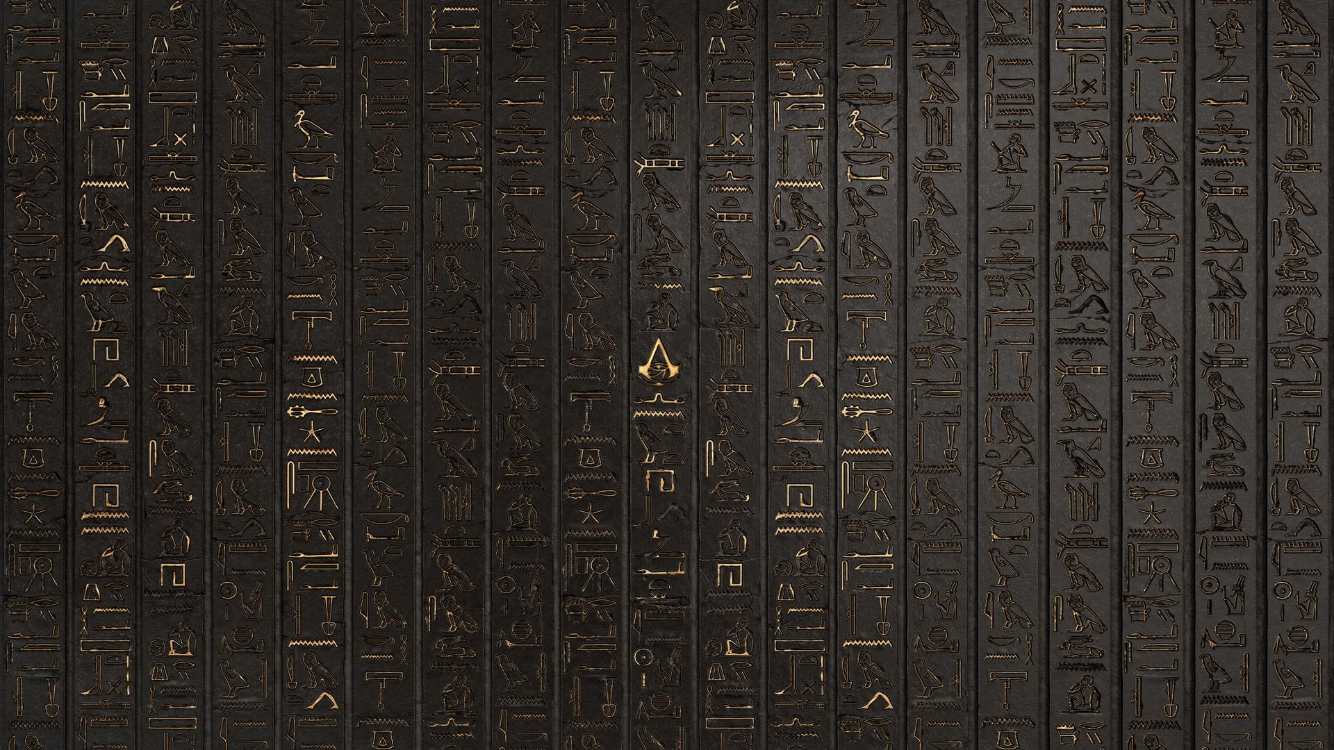 1920x1080 Hieroglyphs Assassins Creed Origins Game Wallpaper | egypt ...