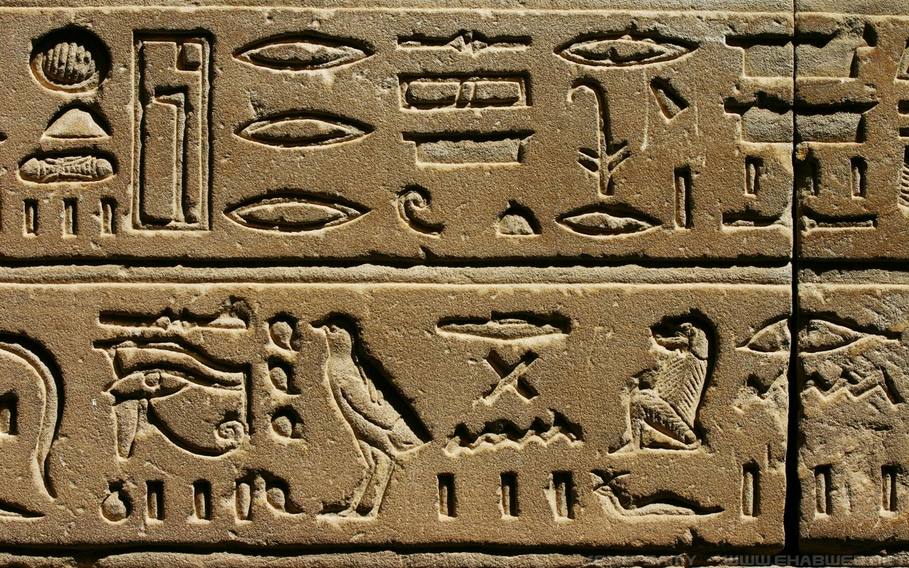 1280x800 Hieroglyphics Desktop Wallpaper