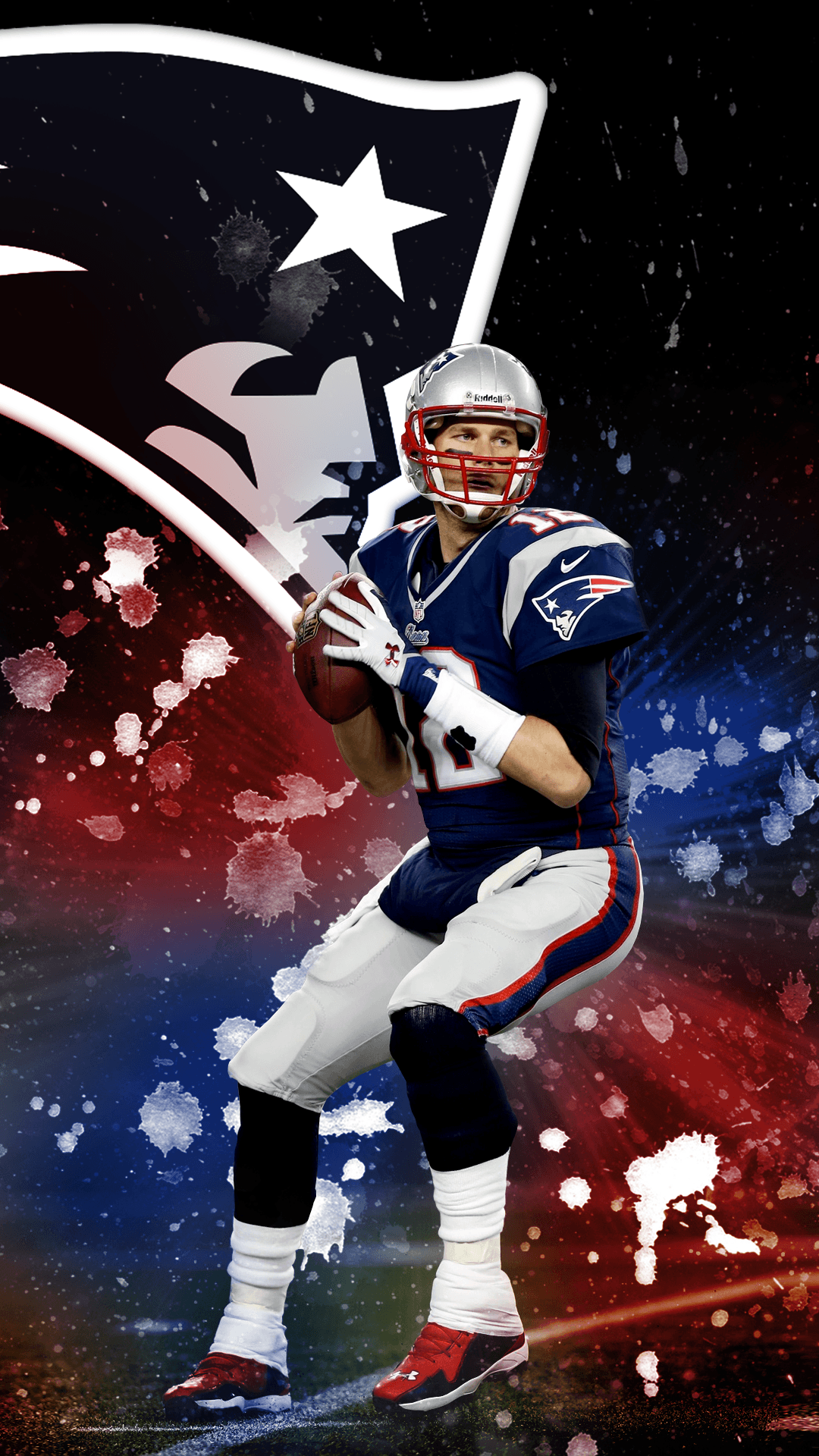 1080x1920 I made a Tom Brady phone wallpaper for my fellow Champions :) Hope ...