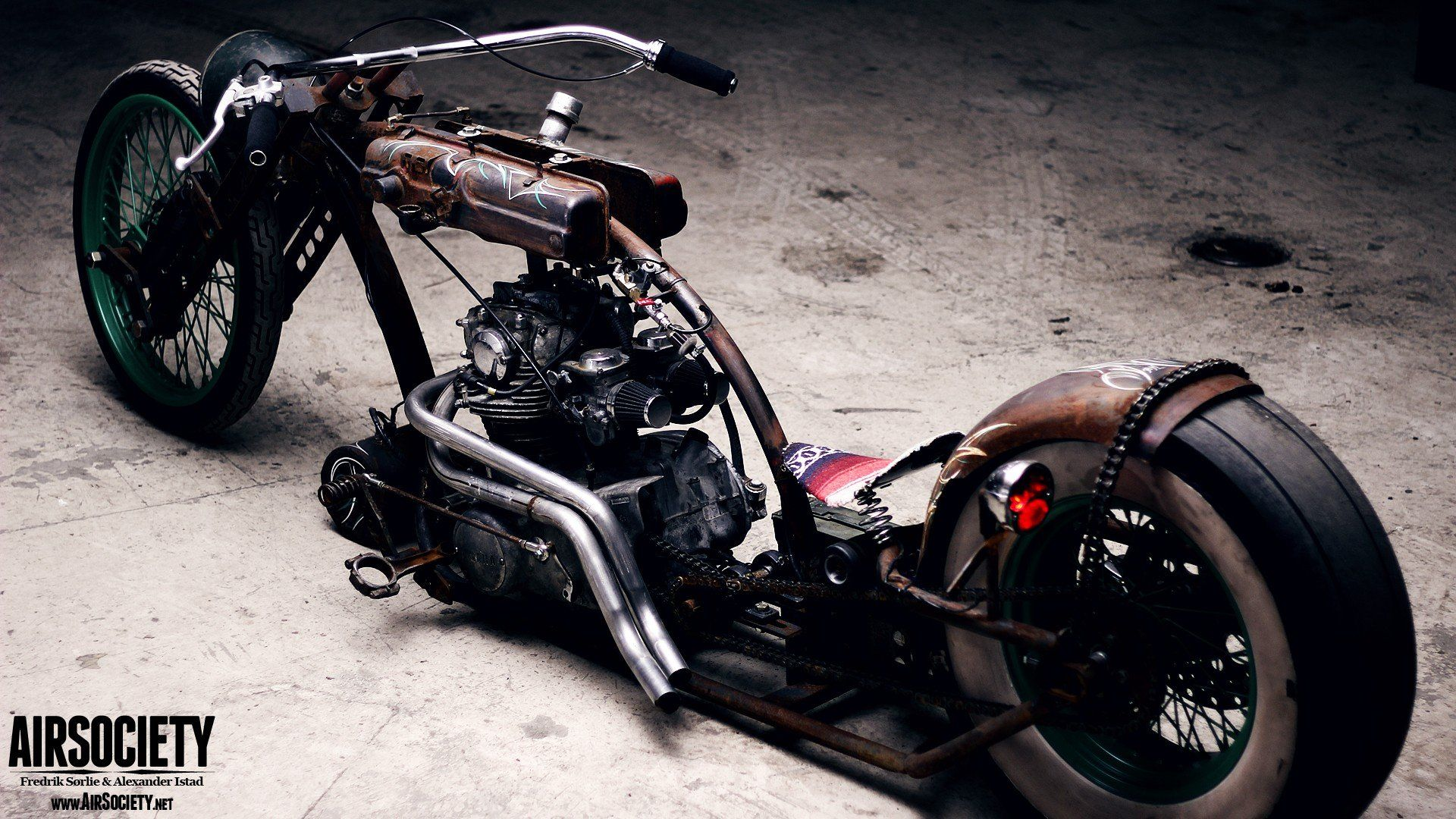 1920x1080 Bike engines chopper ride Yamaha rust suspension motorbikes air ...