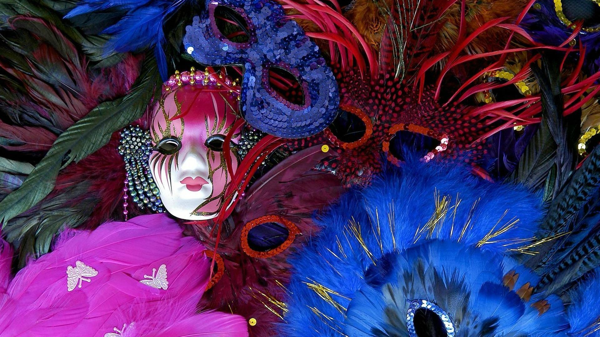 1920x1080 Carnival Masks Brazil - Wallpapers and Backgrounds