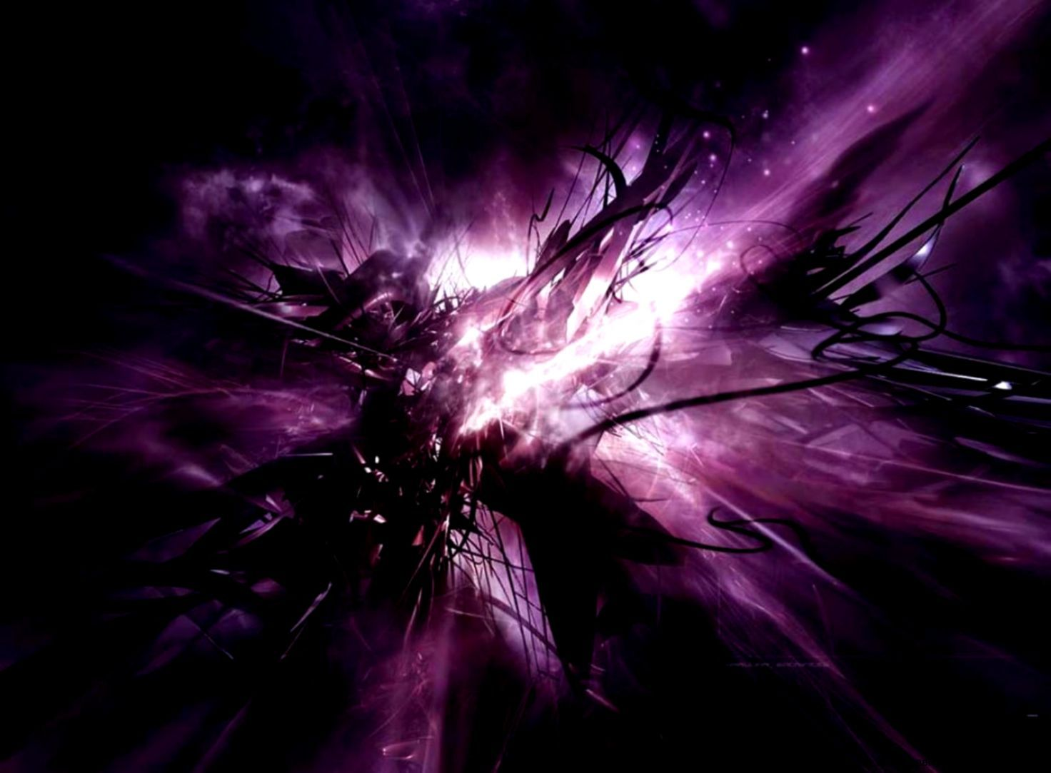 1472x1083 Black and Purple Abstract Wallpaper Picture 1383 - HD Wallpaper Site