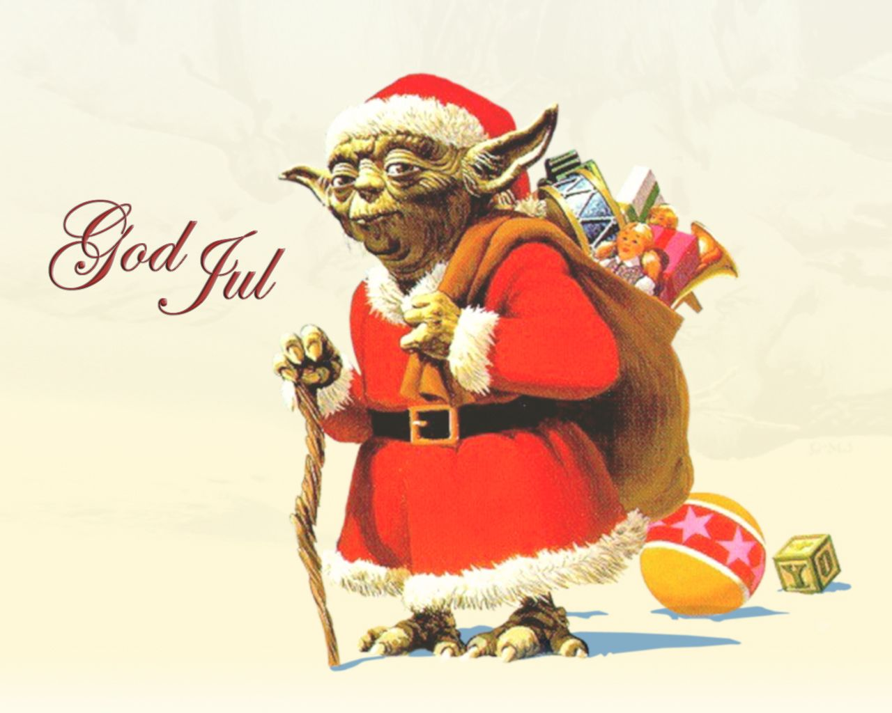 1280x1024 Sci-Fi Christmas - Wallpaper #24887