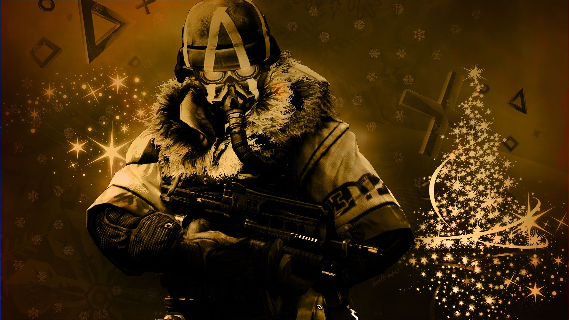 1920x1080 KILLZONE warrior soldier sci-fi christmas f wallpaper | 1920x1080 ...
