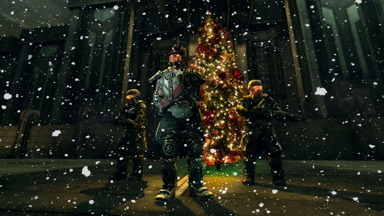 1244x700 KILLZONE warrior soldier sci-fi christmas g wallpaper | 1920x1080 ...
