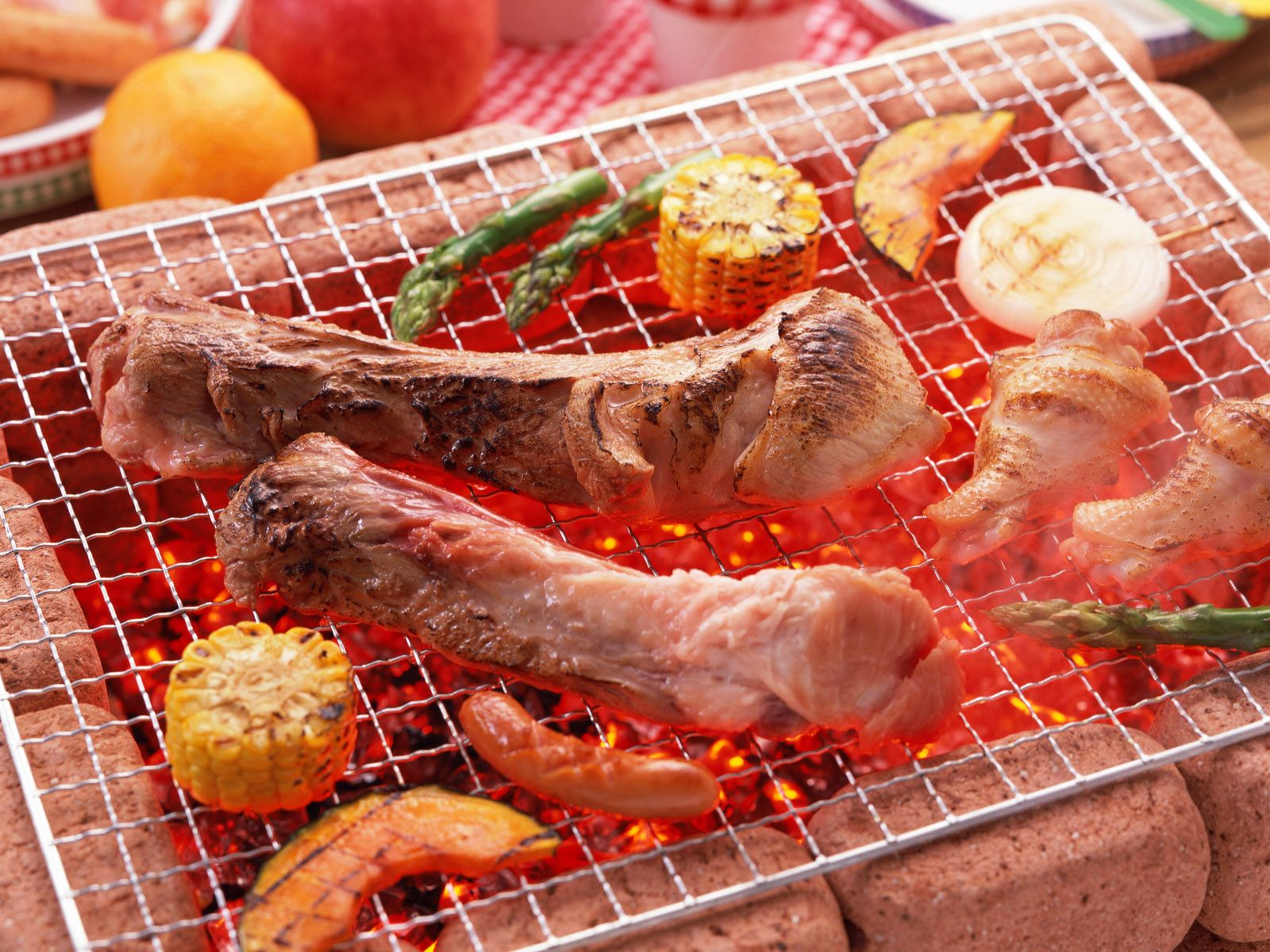 1600x1200 BBQ Ribs wallpapers and images - wallpapers, pictures, photos