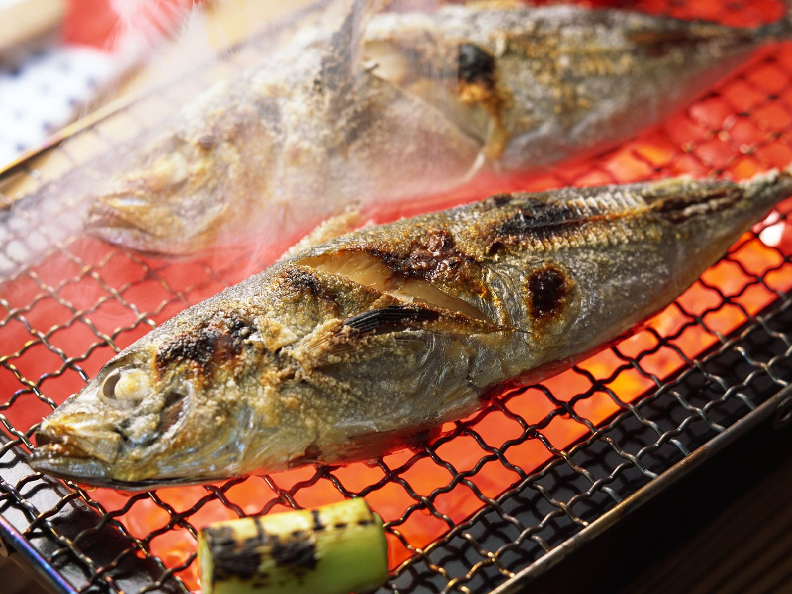 1600x1200 Grilled Fish wallpapers and images - wallpapers, pictures, photos