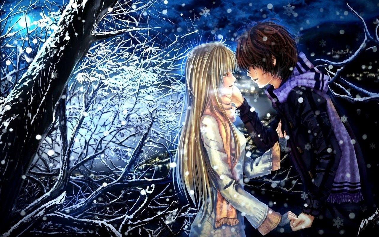 1280x800 love-romance-image: Romantic anime in love hd pictures romantic ...