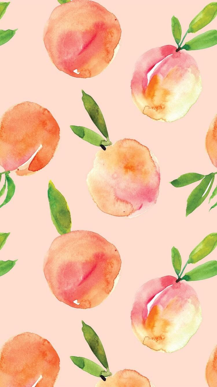750x1334 You're a peach | Backgrounds | Pinterest | Peach, Wallpaper and Phone